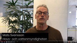 Mats Svensson, Havs- och vattenmyndigheten