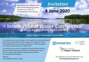 Inbjudan vattenkonferens 2020