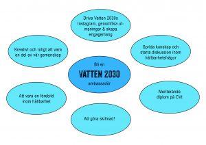 Bli ambassadör för Vatten 2030