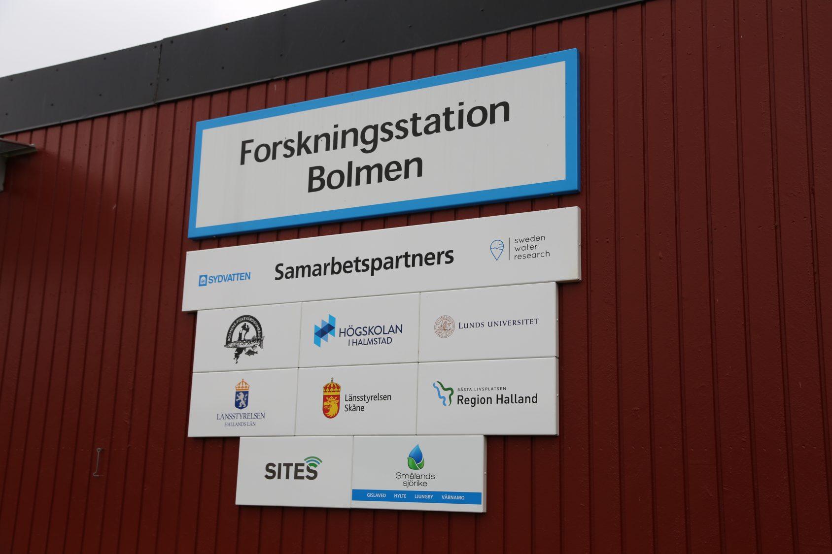 Forskningsstation Bolmen, smarbetspartners