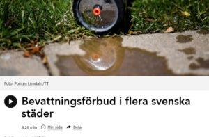 Skärmdump fr Sveriges Radio P1